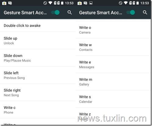 Cara menggunakan Fitur Gesture Smart Access