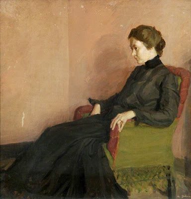 Harold Gilman - Grace Canedy (the artist's first wife)