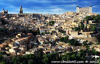 Vistas de Toledo desde el camino del valle