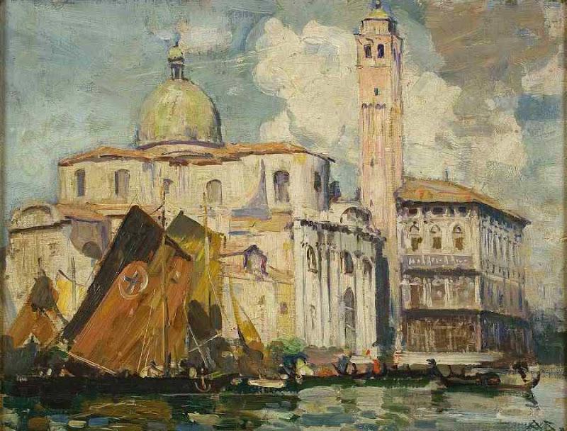 Arthur Streeton - Grand Canal, Venice