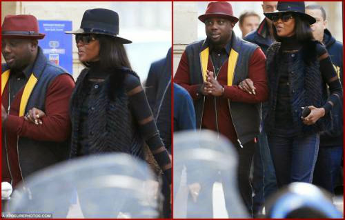 New Romance Nigerian Billionaire Businessman Kola Aluko On Lunch Date With Naomi Campbell