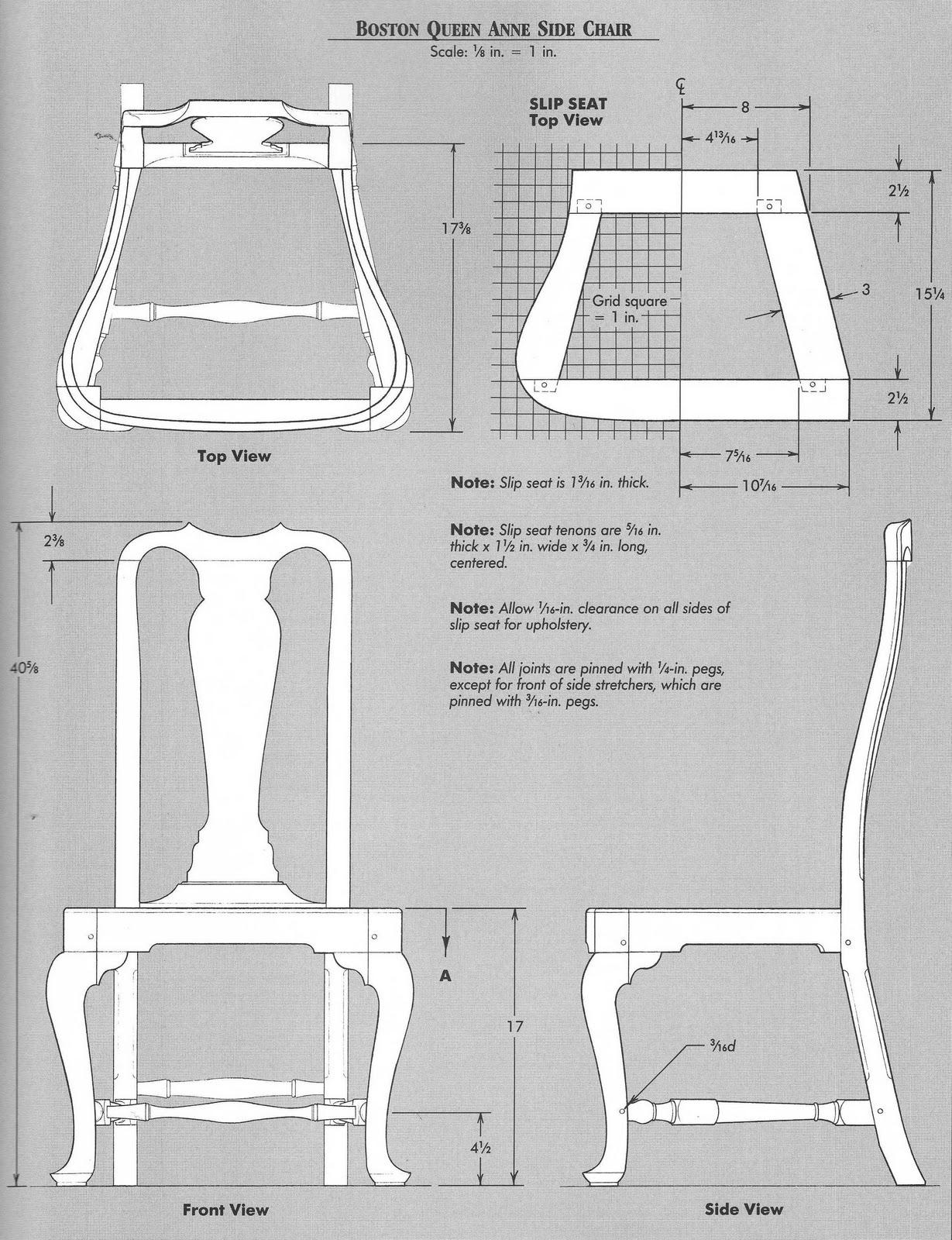 Elga s Miniatures Queen Anne Chair Cabriole legs Jig making