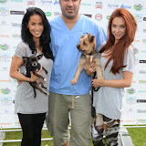 WWW.ENTSIMAGES.COM -     Funda  Onal from made in Chelsea, Marc Abraham (TV Veterinary Business Development and Coaching Consultant) and Heather Driver     at       Pup Aid at Primrose Hill, London September 6th 2014Puppy Parade and fun dog show to raise awareness of the UK's cruel puppy farming trade. Pup Aid, the anti-puppy farming campaign started by TV Vet Marc Abraham, are calling on all animal lovers to contact their MP to support the debate on the sale of puppies and kittens in pet shops. Puppies & Celebrities Return To Fun Dog Show Fighting Cruel Puppy Farming Industry.                                              Photo Mobis Photos/OIC 0203 174 1069