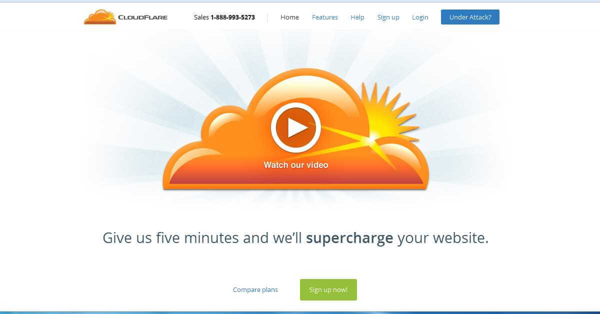 Cloudflare Home