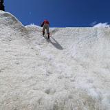 Escalada com machete, Trekking no Glaciar Exploradores, Puerto Rio Tranquilo, Chile