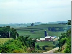 Rolling hills of Wisconsin