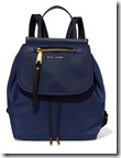 Marc Jacobs Textured Leather Trimmed Backpack