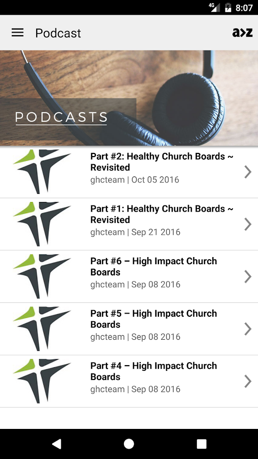 Growing Healthy Churches, Inc.- screenshot