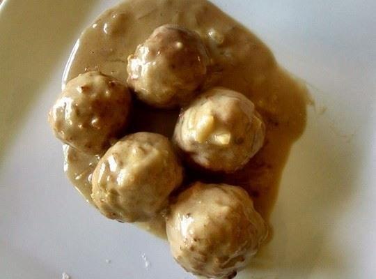 French Onion Meatballs Recipe