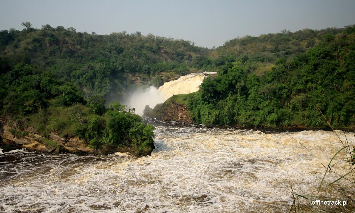 Odnoga wodospadu Murchisona, park narodowy Murchison Falls, Uganda