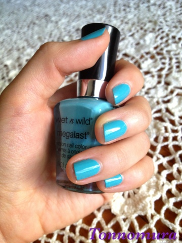 Wet n Wild Megalast in I need a Refresh-Mint 218A