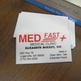 Spotkanie medyczne z Dr. Elizabeth Mikrut przy kawie i pączkach. Zdjęcia B. Kołodyński - SDC13601.JPG