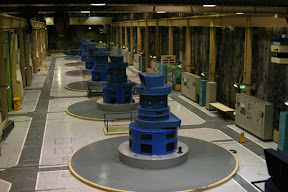 Interior of Manapouri Power Station