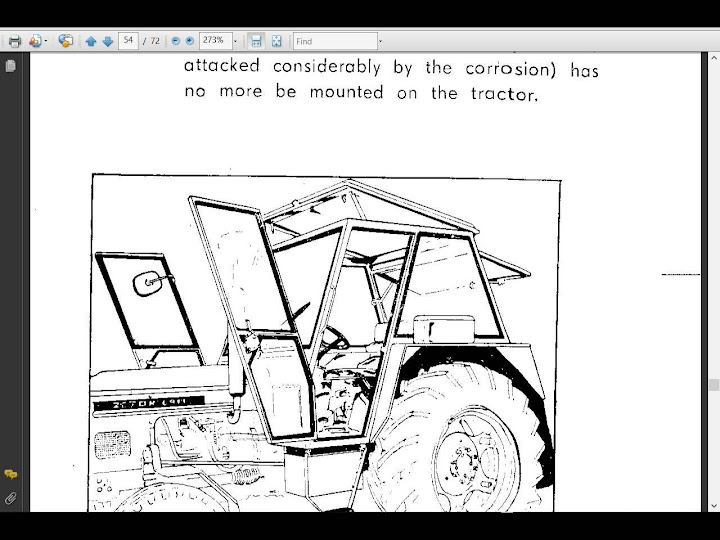 ZETOR 4911 5911 6911 6945 OPERATION MAINTENANCE MANUAL w