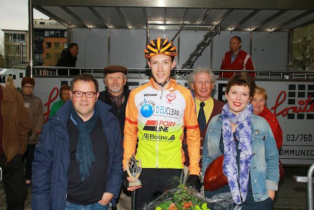 Thomas Vansteelandt met Henk Kindt en Michelle Hostekint