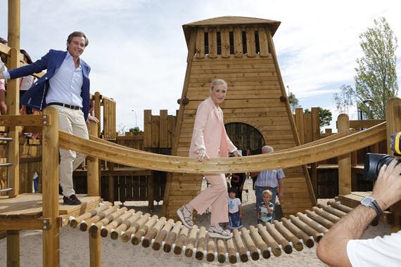 Inaugurado el parque lineal Juan Carlos I de Boadilla del Monte