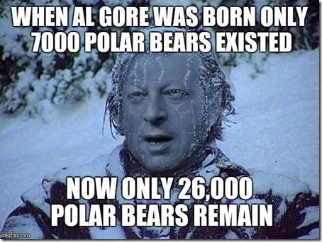 al gore polar bears
