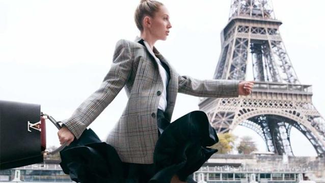 Μαρία Ολυμπία: Η εντυπωσιακή φωτογράφιση στο Παρίσι για τον Louis Vuitton