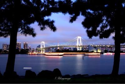 東京の風景 japan tokyo お台場の夜景