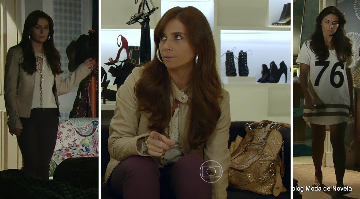 moda da novela Em Família - look da Clara dia 6 de junho