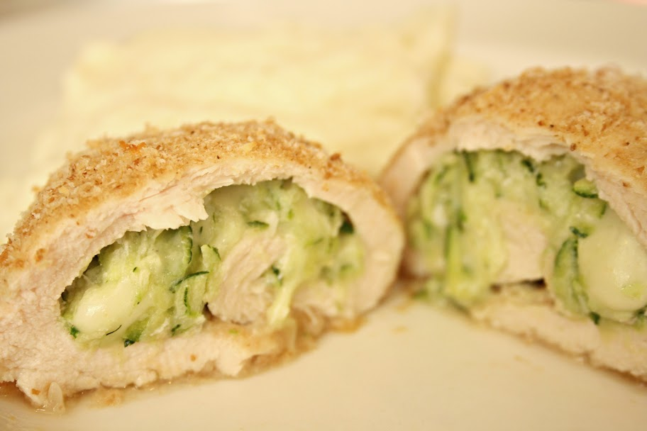 Skinnytaste's Chicken Rollatini Stuffed with Zucchini and Mozzarella