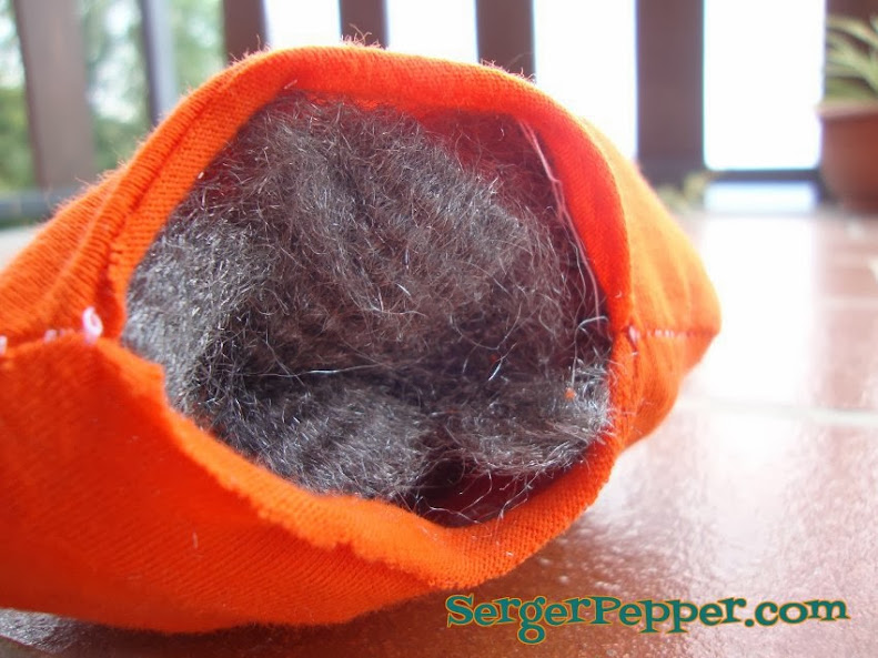 SergerPepper - Jack O'PinMe - fill with wool steel
