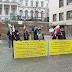 النمسا: إيرانيون يحتجون في فيينا على اجتماع افتراضي بشأن الاتفاق النووي مع طهران