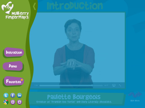 Mulberry FingerPlays Instruction and Demo