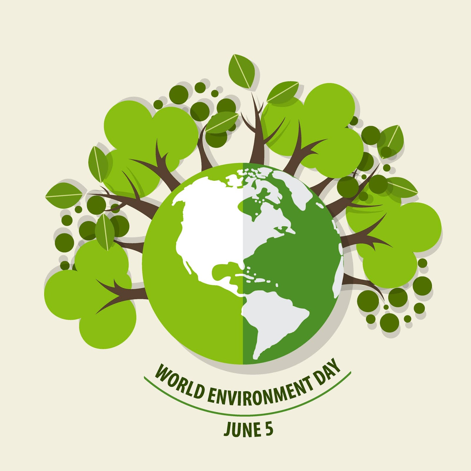 World Environment Day Concept Free Download Vector CDR, AI, EPS and PNG Formats