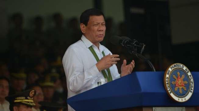 Presiden Duterte ke Warga Filipina: Anda Pilih, Vaksin atau Saya Jebloskan ke Penjara