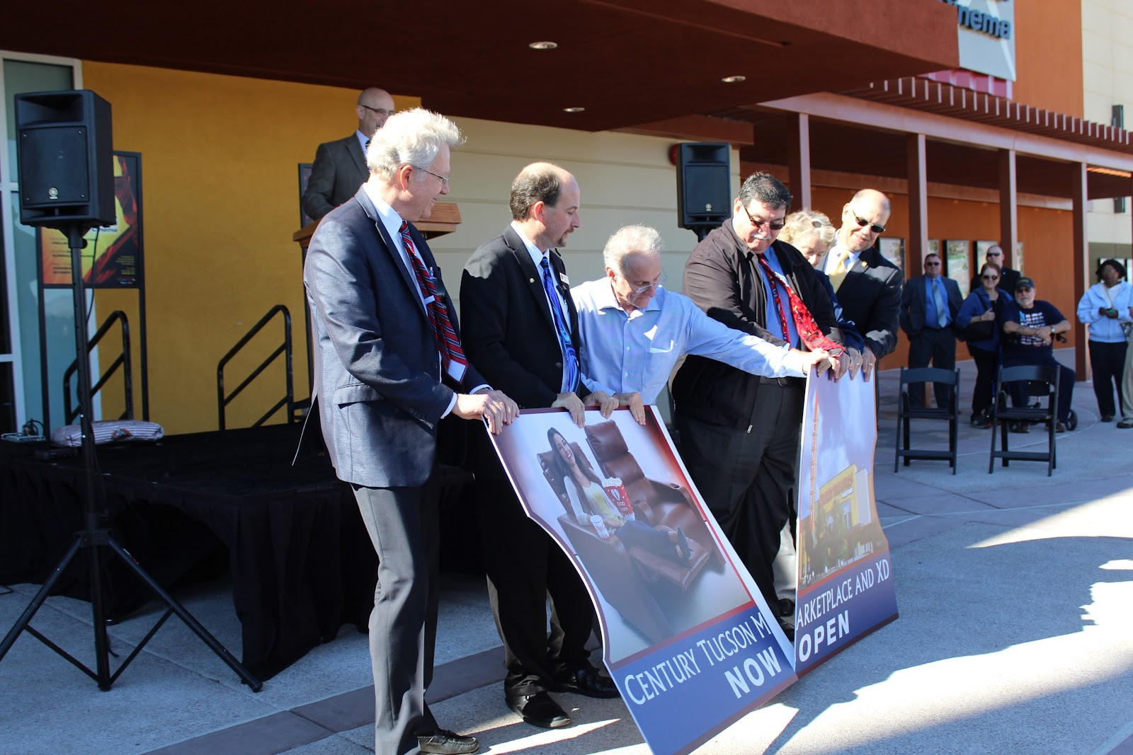 Congratulations to Century Theatres at Tucson Marketplace at the Bridges on their grand opening celebration!