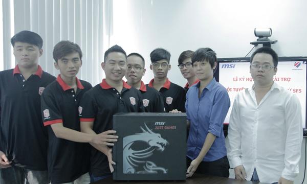 Saigon Fantastic Five nhận tài trợ từ MSI 2