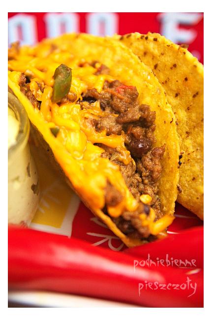 Tacos z wołowiną i guacamole
