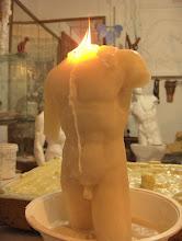 Photo: TorsoCandle     www.CandleSculpture.com