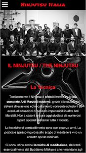 Ninjutsu Italia - náhled