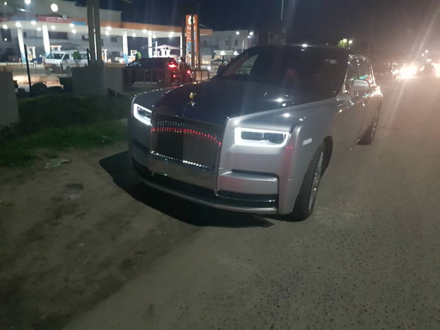 N360 Million 2018 Rolls Royce Phantom Arrives Nigeria
