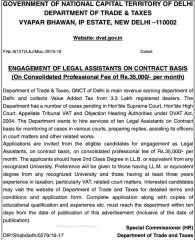 GNCT Delhi Recruitment 2016 indgovtjobs