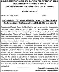 GNCT Delhi Recruitment 2016 indgovtjobs