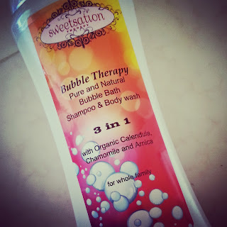 bubble bath, shampoo and body wash, 3 in 1