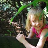 En klim ik een beetje in de bomen