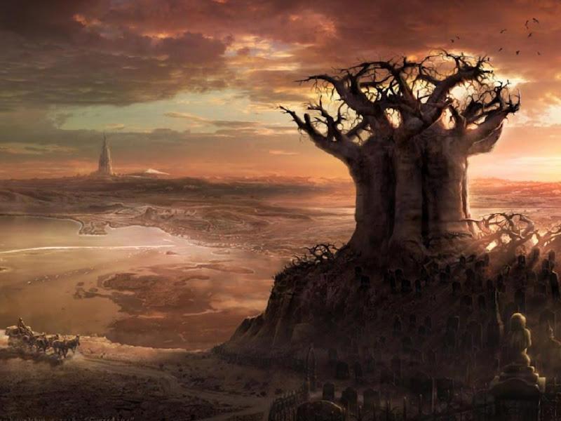 Magick Landscape Of Deep 12, Magical Landscapes 4
