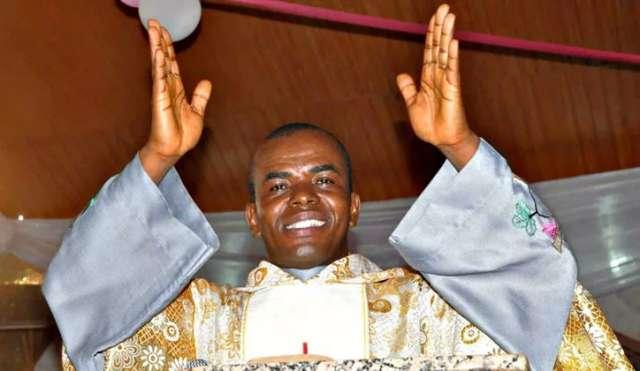 EXCLUSIVE REPORT - Unknown gunmen allegedly attack Fr. Ejike Mbaka in Enugu