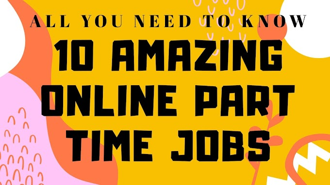 8 Awesome Online Part Time Jobs from Home