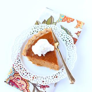Deep Dish Pumpkin Pie Recipes