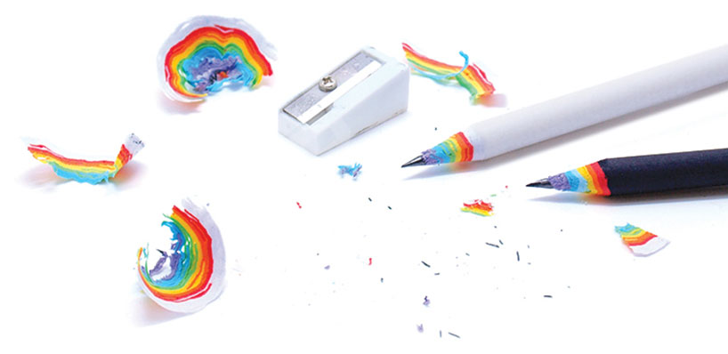 #會製造彩虹的鉛筆:rainbow pencils by Duncan Shotton! 1