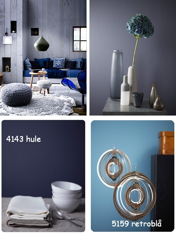 Helders malerforretning: ukens farge.....blå