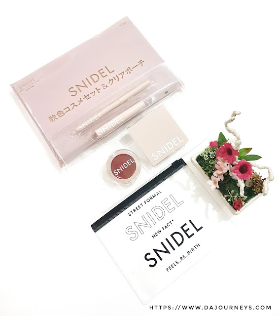 Review Snidel Japan Makeup Set