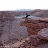 Pôr-do-sol no Vale da Lua - San Pedro do  Atacama, Chile
