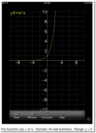 Eddie's Math and Calculator Blog: Calculus Revisited #3: Logarithmic