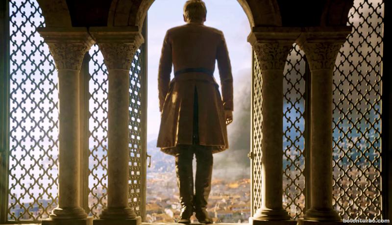 Tommen haciendo un King's Landing